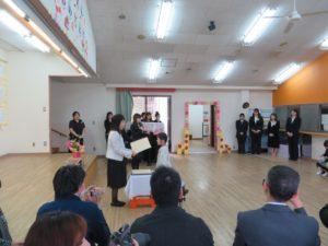 卒園式 の写真01