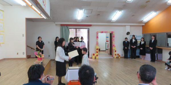 卒園式01