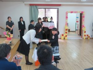 卒園式 の写真02