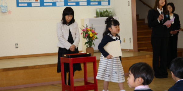 ★きりんぐみさん★ ~卒園式~ 証書授与