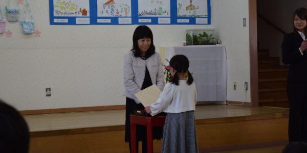 ☆きりんぐみさん☆ ~卒園式~ 証書授与